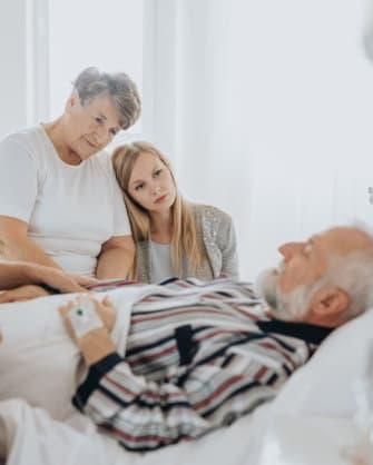 elderly care concept
